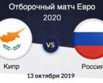 Отбор на Евро — 2020. Кипр - Россия