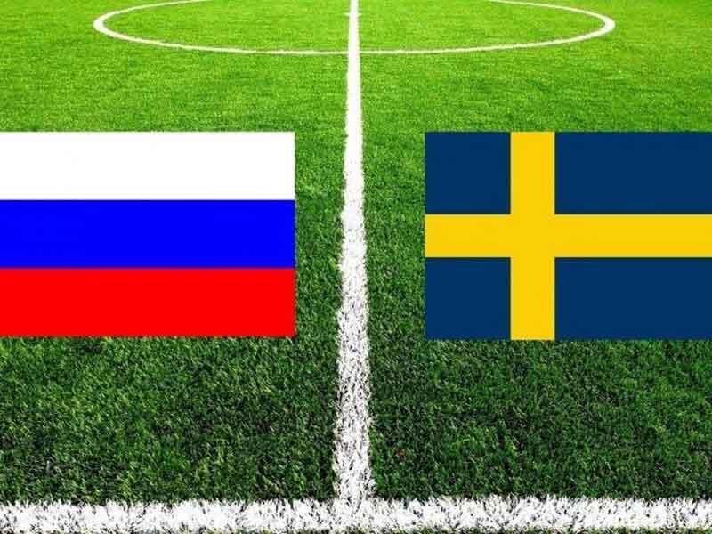 Футбол. Контрольный матч Россия - Швеция