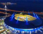 Матчи чемпионата Европы в Санкт-Петербурге